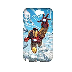 Generic Kawaii Phone Cases For Girly Design With Iron Man For Samsung Galaxy Note2 Full Body Choose Design 1-12