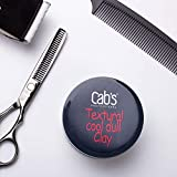 Cab's Textural Cool Dull Hair Clay for Men with