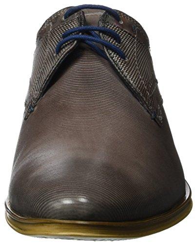Bugatti 312234021100, Zapatos de Cordones Derby para Hombre Grau (hellgrau 1200)
