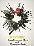 Keyman 30 Keys Heavy Equipment 30 Key Set / Construction Ignition Keys Set