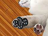 VALFRID Dog Paw Protector Rugged Anti Slip 40 Pieces,Disposable Self Adhesive Resistant Dog Shoes Booties Socks Replacemen 10 Sets for 4 Paws XXXL