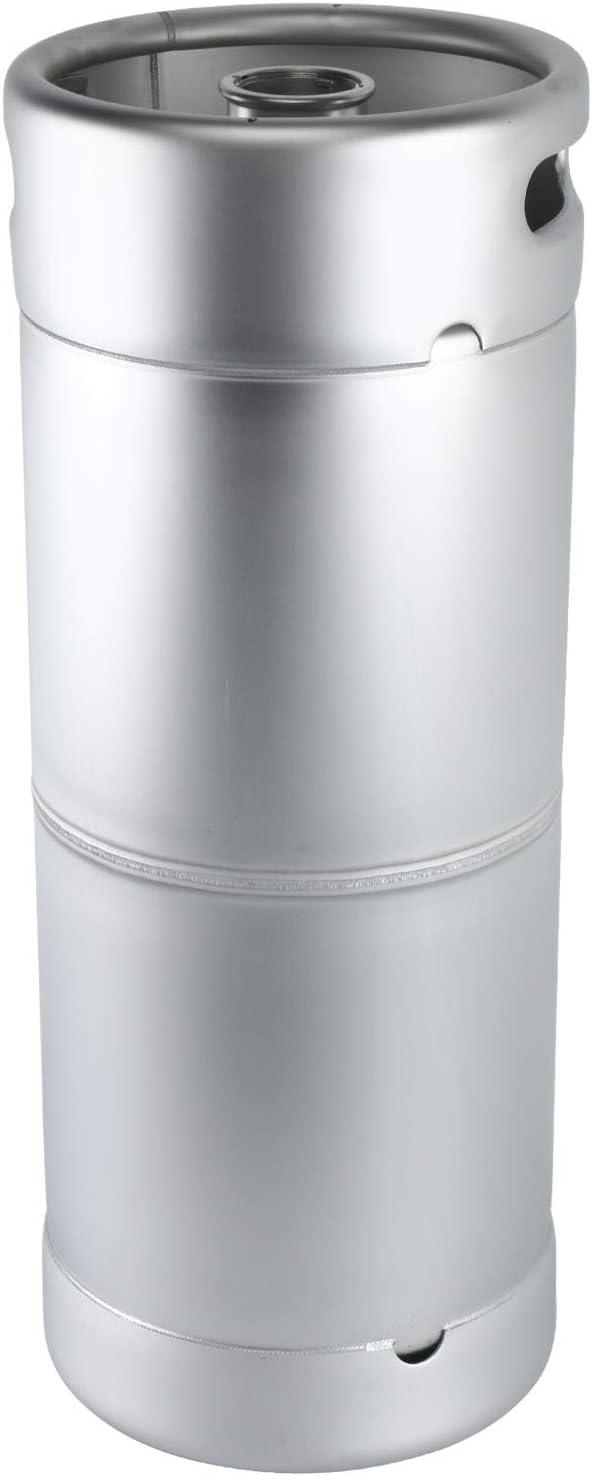 Yaebrew 5 Gallon Stainless Steel Commercial Beer Kegs - Drop-In D System Sankey Valve