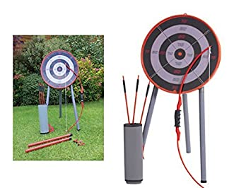 Garten Bogenschießen Spielset Spielzeug Darts Ziel Bullauge Krieger