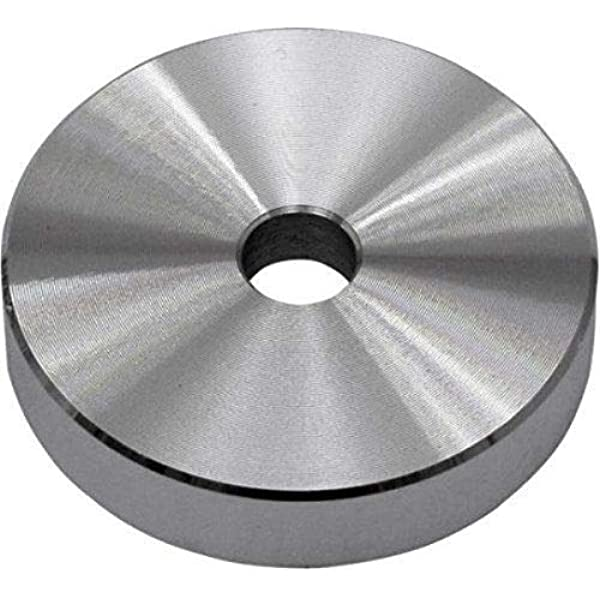 Adaptador de 45 RPM para tocadiscos (aluminio, 17,7 cm ...