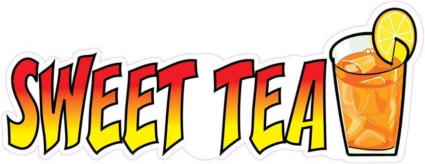 Iced Tea Shakes-Ups Concession Restaurant Food Truck Die-Cut Vinyl Sticker
