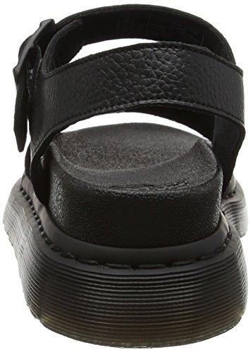 Piattaforma Dr black Donna Con Sandali 22095608 Martens Pebble Lamper Nero TPwqPrIx