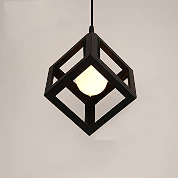 Lámparas de araña Lámpara simple de hierro de la manera ...