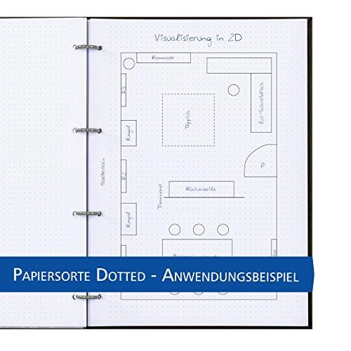 Schaar de diseño flexinotes® Cuaderno A4 recargable con registro ...
