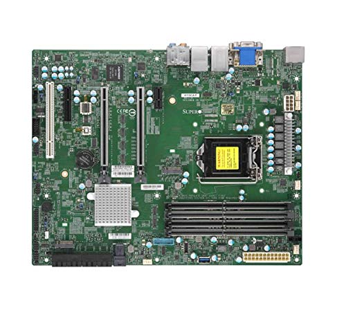 Supermicro Motherboard MBD-X11SCA-F-O Core i3 S1151 C246 Up to 64GB PCIe SATA ATX Retail (Supermicro Motherboards)