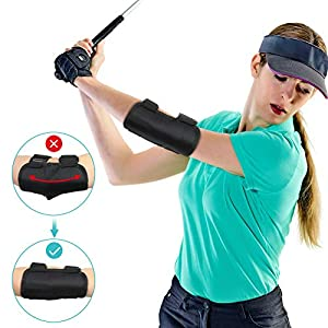 Yosoo Health Gear Golf Swing Training Aid Elbow, Golf Swing Trainer, Straight Arm Golf Training Aid with TIK-Tok Sound…