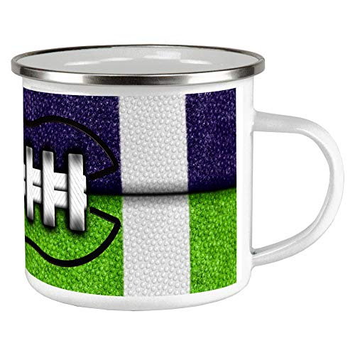 Old Glory Fantasy Football Team Navy and Electric Green Camp Cup Multi Standard One ()
