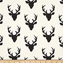 Art Gallery Hello Bear Buck Forest Night Fabric By The Yard