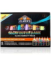 Elmer's Glow-in-the-Dark Liquid Glue, Washable,
