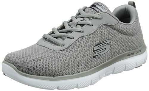Advantage Dayshow 0 2 Flex Grey Skechers Gris Baskets Homme UqwPBx5
