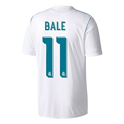 best website db7e4 34b0b Amazon.com : Real Madrid Home #11 Gareth Bale Soccer Jersey ...