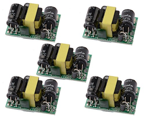 DAOKI 5 PCS AC DC Power Supply Buck Converter Step Down Module 12v 5v 3.3v 9v