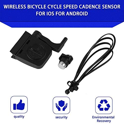 Cloverclover Sensor inalámbrico de cadencia de Velocidad del Ciclo ...