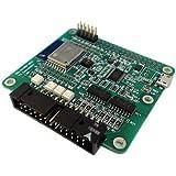 ワイツー Wi-Fi 絶縁デジタル入出力ボード ESP-WROOM-02(ESP8266)モジュール搭載 I2Cバスで拡張可能 DIO-8/4RD-WUC