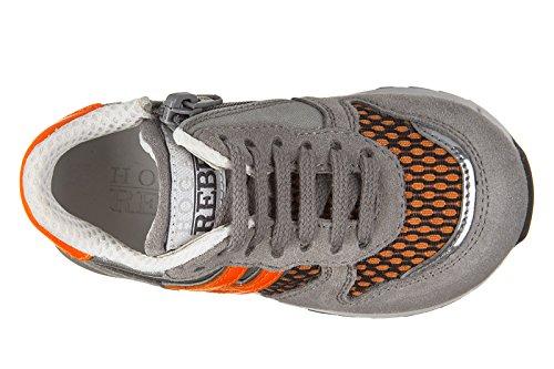 Allacciato De R261 Sapatos Camurça Crianças Sneakers Sapatos Rebeldes Hogan Meninos Crianças xvF7HPpqw