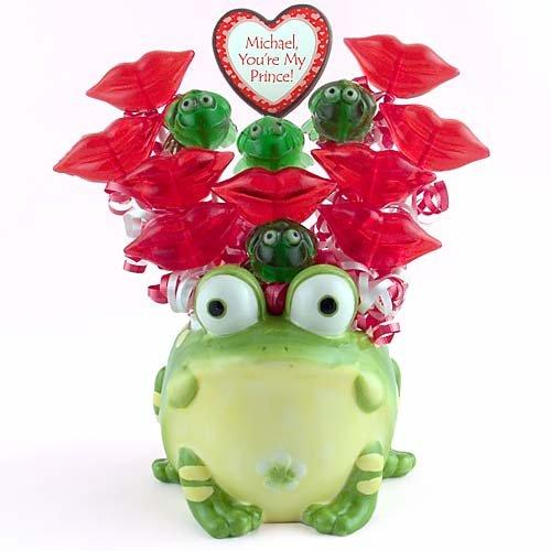 Kiss Me Frog Lollipop Bouquet