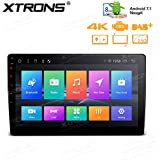 XTRONS 10.1 Inch Android 7.1 Nougat 32GB ROM + 2GB DDR3 RAM Octa-Core Rotatable Face Panel Car Stereo