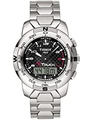 Tissot Mens T33788892 T-Touch Polished Titanium Watch