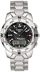 Tissot Men's T33788892 T-Touch Polished Titanium Watch