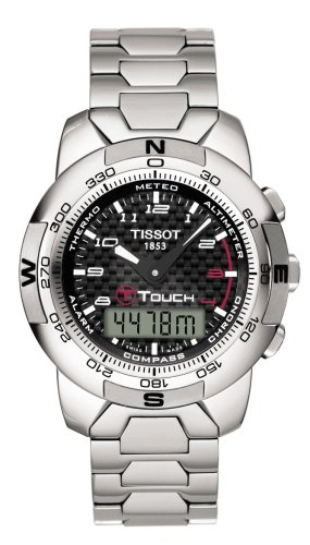 92 T-Touch Polished Titanium Watch (T-touch Titanium Watch)