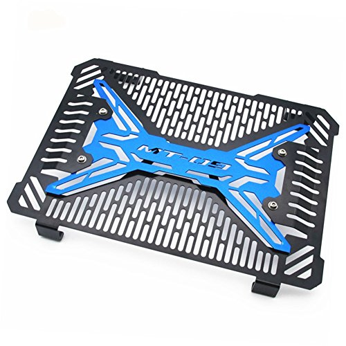 Blue Motorcycle Radiator Grill Guard Protector Cover Fit For Yamaha FZ09 2014-2017