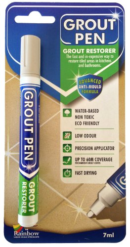Grout Pen Grey - Ideal to Restore the Look of Tile Grout Lines