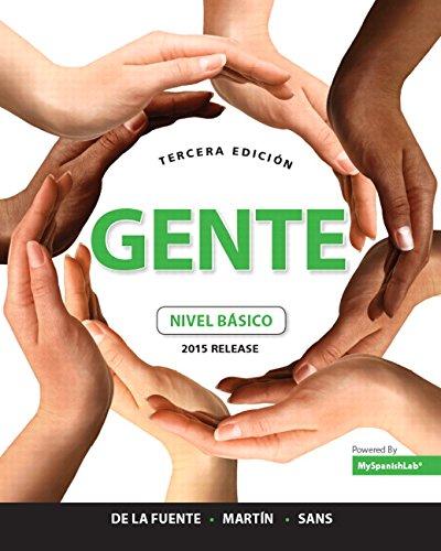 Gente: nivel básico, 2015 Release (3rd Edition)