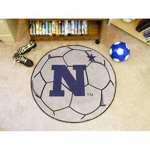 Fanmats Soccer Ball Floor Mat - US Naval Academy