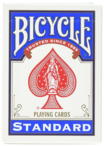 Magic Geek Bicycle Svengali Deck – Choose Your Color (Blue, 1 Pack)