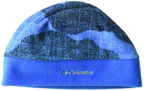 Columbia Kids & Baby Big Kids Fast Trek II Hat, Super Blue Tonal Camo, Small/Medium