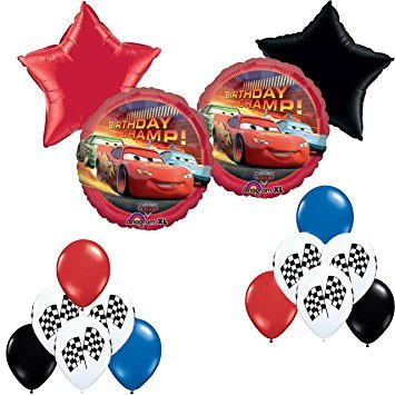 Disney Pixar Cars Birthday Party Balloon Decoration (Balloon Decoration Kits)