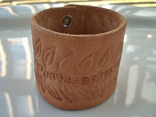 Amazoncom Leather Cuff Bracelet Wrist Tattoo Cover Handmade