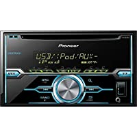 PIONEER FHX520UI Double-Din CD Player with Mixtrax and iPod Compatibility (Certified Refurbished)