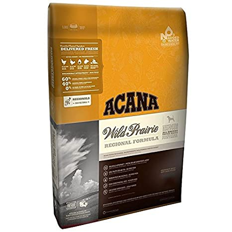What Is The Best Dog Food for a Large Breed Dog? | ACANA Wild Prairie Regional Formula Grain-Free Dry Dog Food | Dogfood.guru