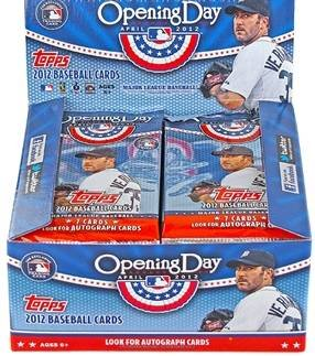 5 PACK LOT : 2012 Topps Opening Day Baseball Cards - Factory Sealed (5 Packs - 7 Cards/Pack)