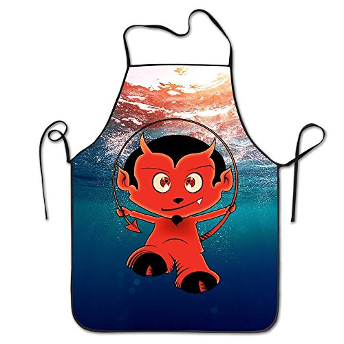 Cock Demon Kids Chef Aprons Chef Apron For Women Men Girl Kids Gifts Kitchen Decorations - Demon Hunter Costume Male