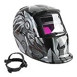 Welding Helmet - SODIAL(R) Solar Auto Darkening Welding Helmet TIG MIG Weld Welder Lens Grinding Mask