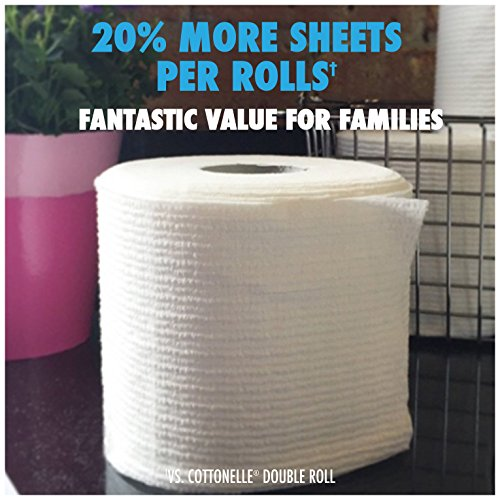 Large Product Image of Cottonelle Ultra ComfortCare Family Roll Plus Toilet Paper, Bath Tissue, 36 Toilet Paper Rolls