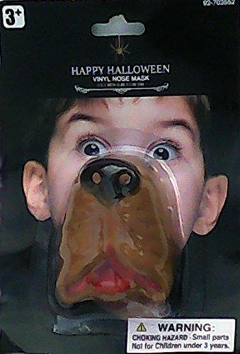 Bloodhound Dog Nose Mask (Bloodhound Dog Costume)