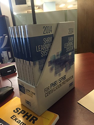 2014 SHRM Learning System- For PHR/SPHR Certification Preparation (2014 Shrm Learning System)