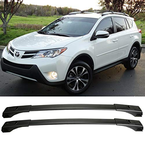 Nick88am OE Style for 2013-2018 Toyota RAV4 Aluminum Roof Rack Cross Bar Luggage Carrier