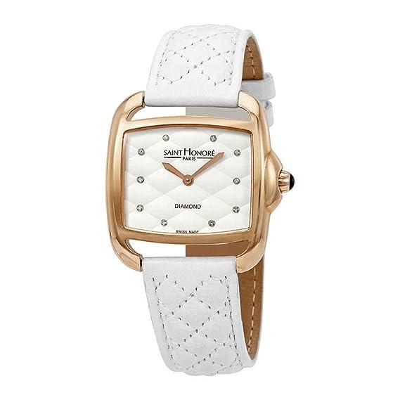 Reloj para Mujer con Esfera de Diamante Blanco de San Honor Charisma 7210618AMD: Amazon.es: Relojes