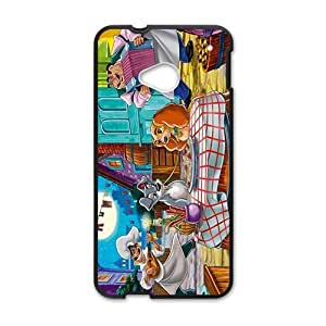 Happy Lady and the tramp Case Cover For HTC M7