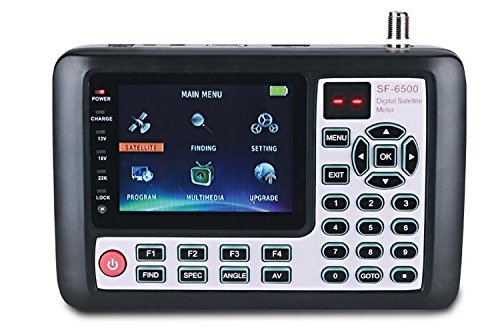 HD MPEG4 digital DVB-S2 Spectrum Satellite finder meter Remote controllable 3.5inch SF-6500