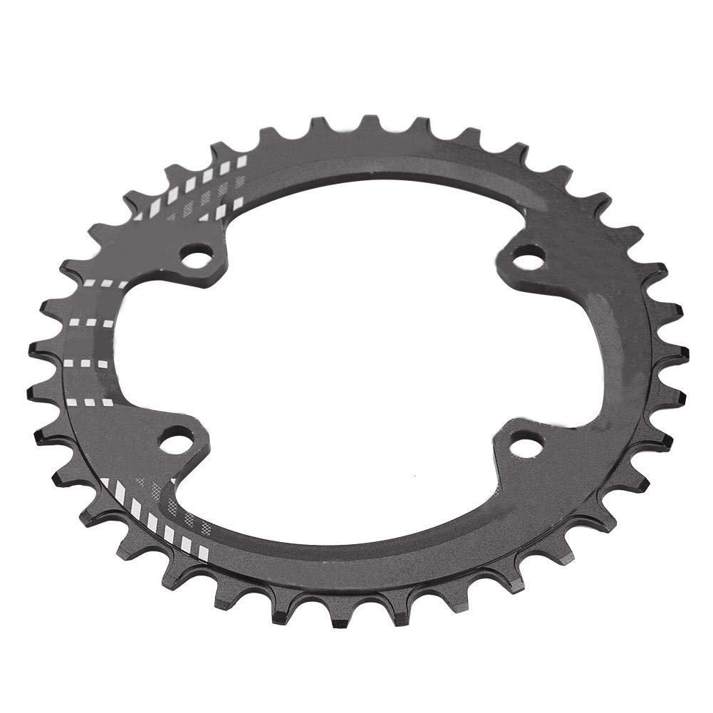 Dilwe バイクチェーンリング シングルスピードクランクチェーンリング 修理パーツ シマノM6000 M7000 M8000用  Black 36T B07HNXTK5H