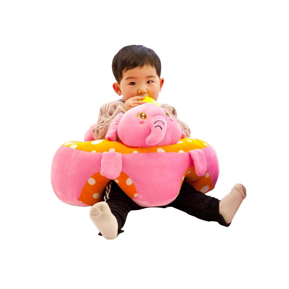 Amazon.com : 3-10 Months Baby Learning Sitting Seat Infant Baby Learning Sitting Chair Portable Seat Childrens Plush Toy : Baby